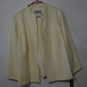 Ivory Jacket with Pants